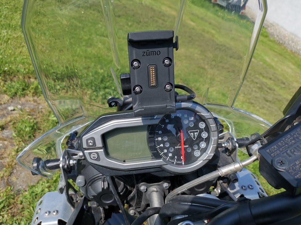 Garmin Zumo 595LM Motorradhalter