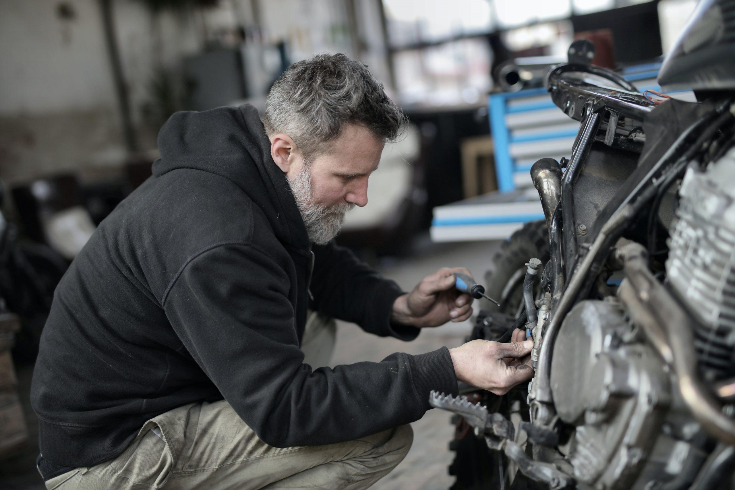Motorradbatterie Test