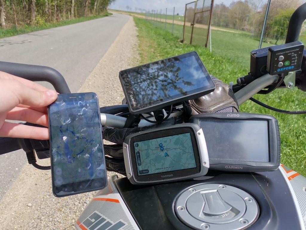 Motorrad-Navigationsgeraete-Test