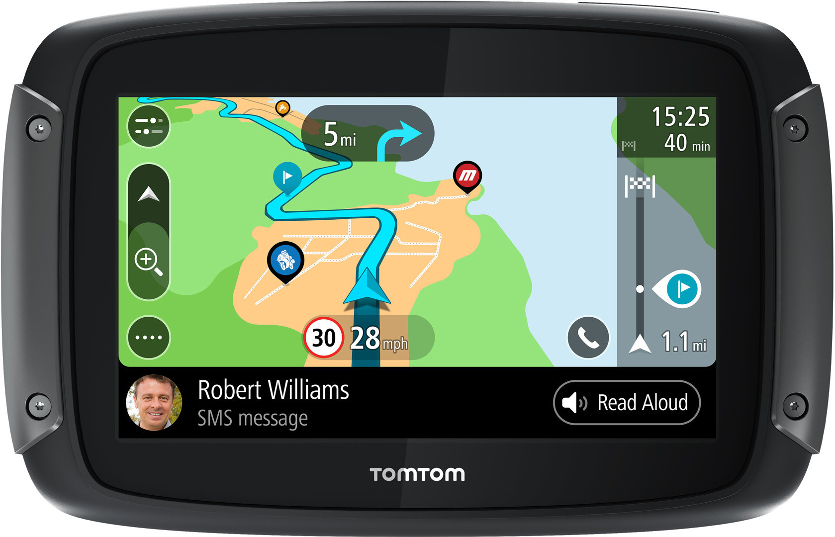 TomTom Rider 550 Premium Pack Navigation