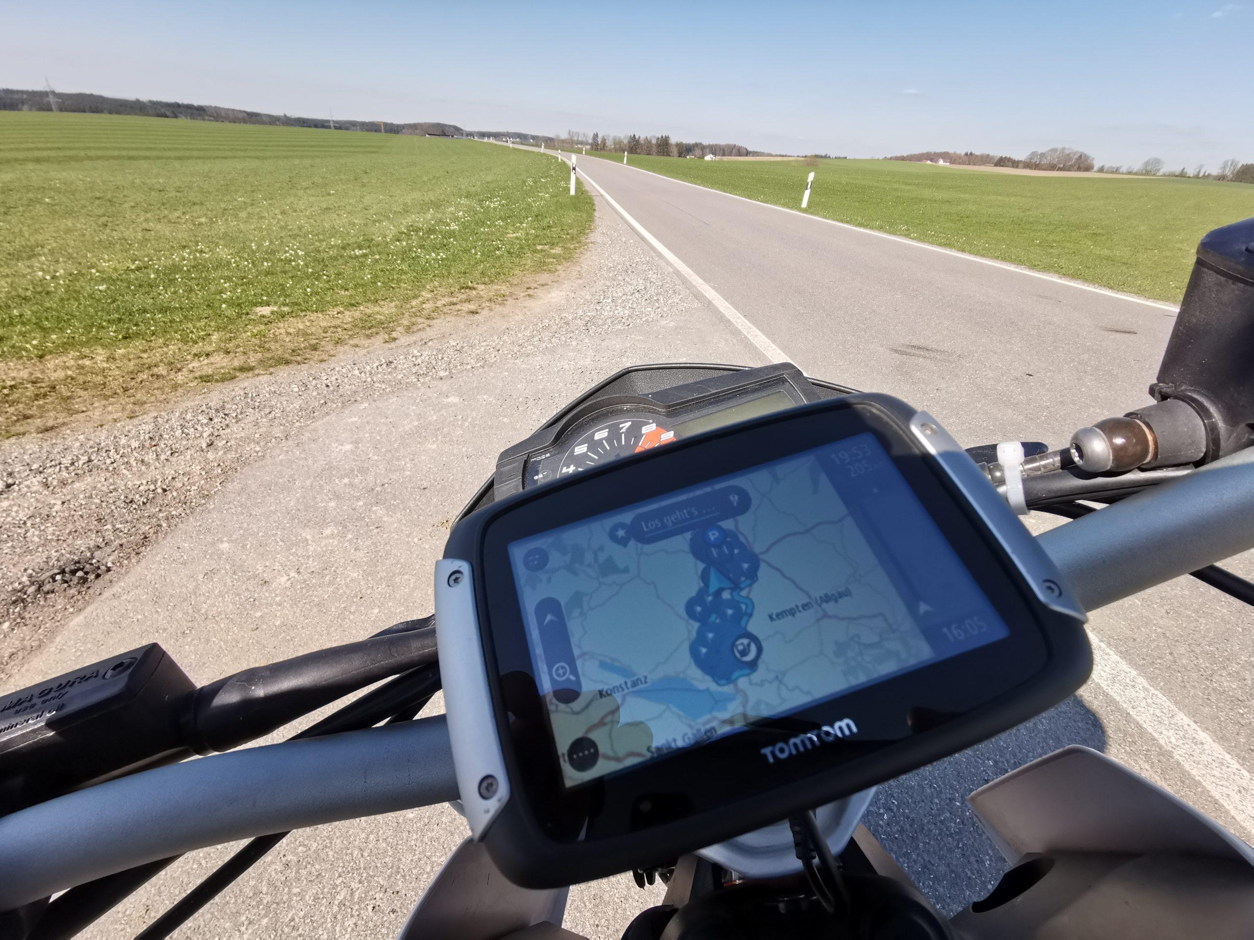TomTom Rider 550 im Test