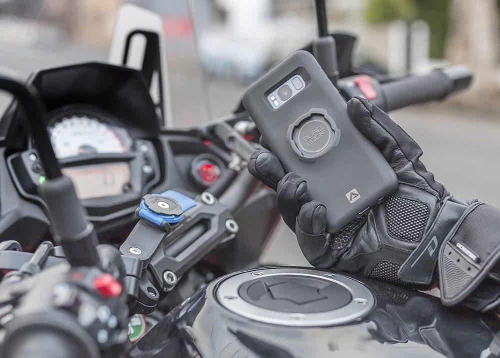 Motorrad Handyhalterung im Test