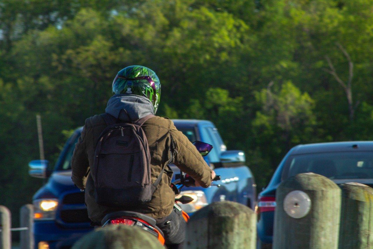 Motorrad Rucksack im Test