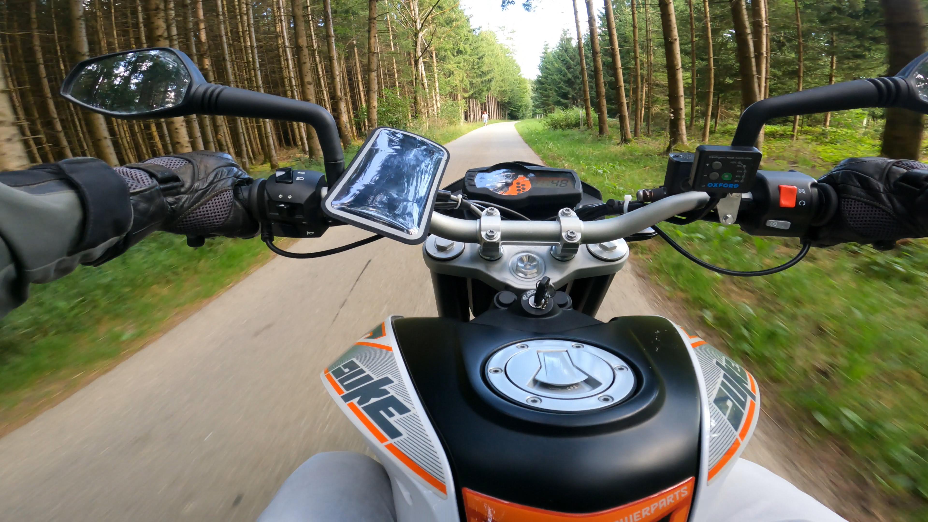 Shapeheart Motorrad Handyhalterung Test